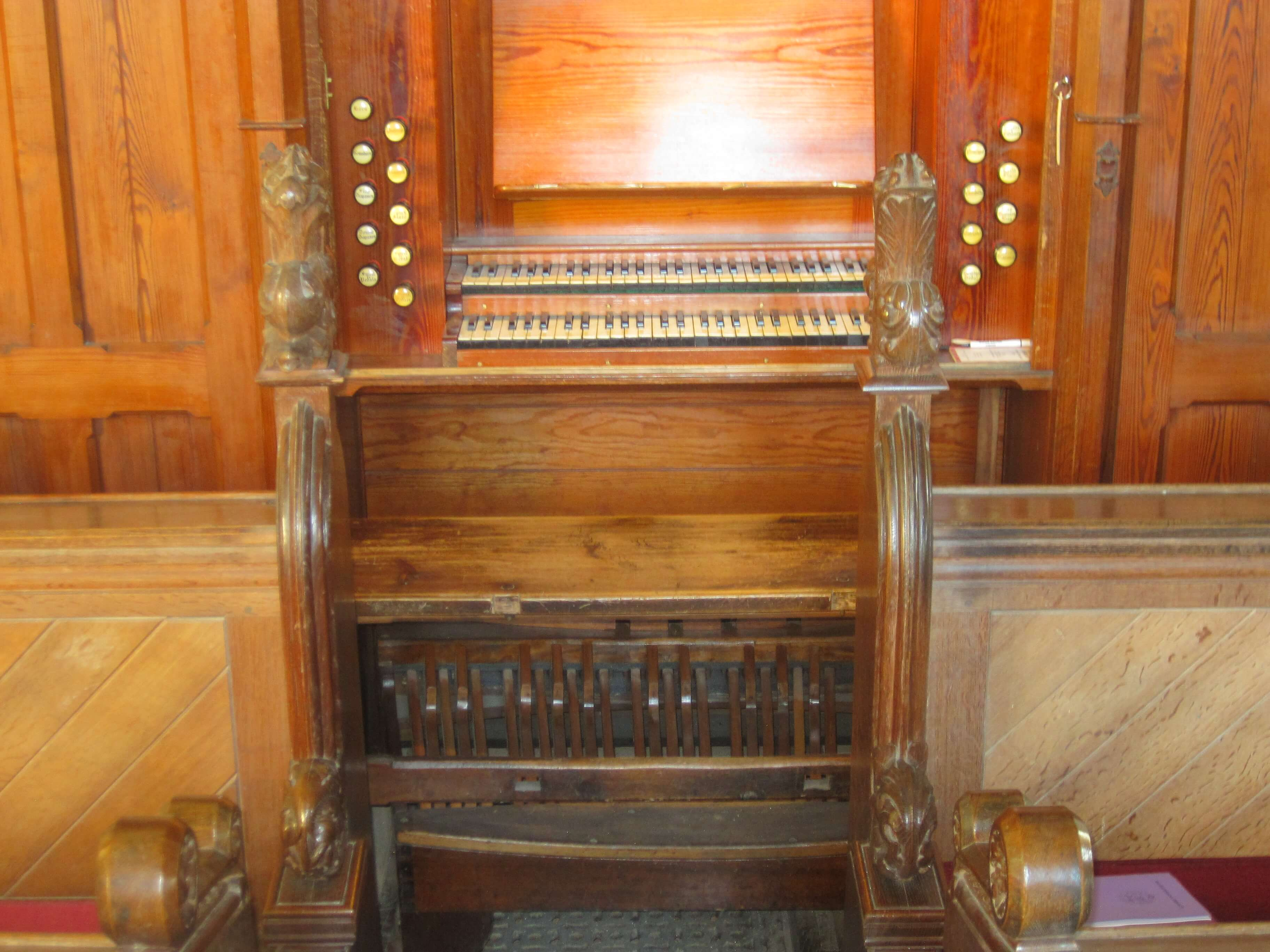 The Organ which Moved